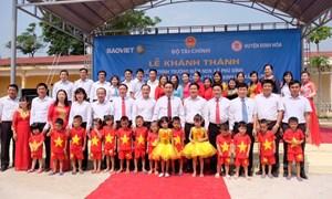 Bảo Việt đầu tư 8,5 tỷ đồng xây trường mầm non tại Thái Nguyên