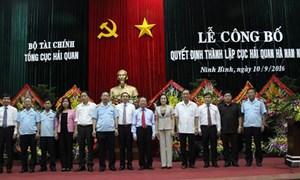 Chính thức ra mắt Cục Hải quan Hà Nam Ninh