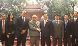 Bộ Tài chính Việt Nam sẵn sàng chia sẻ kinh nghiệm quản lý với Cuba