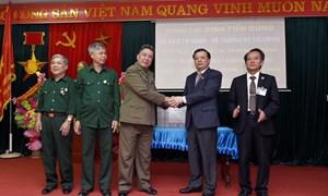 Bộ trưởng Đinh Tiến Dũng thăm và tặng quà tại Trung tâm điều dưỡng thương binh huyện Nho Quan