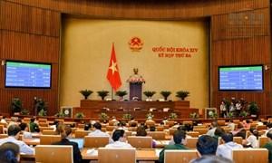 Thông qua Nghị quyết Phê chuẩn quyết toán ngân sách nhà nước năm 2015