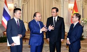Đưa kim ngạch thương mại Việt Nam - Thái Lan lên 20 tỷ USD trước năm 2020