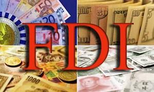 Vốn FDI đổ vào Việt Nam tăng 45,1%