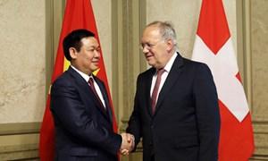 Phó Thủ tướng Vương Đình Huệ thăm và làm việc tại Thụy Sĩ