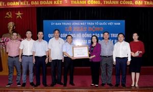 Bộ Tài chính chung tay hỗ trợ đồng bào miền Trung