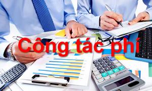 Quy định mới về chế độ công tác phí với đơn vị thuộc Bộ Tài chính