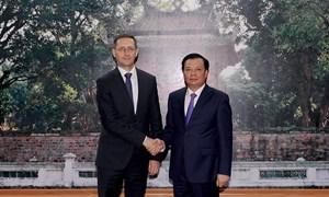 Thắt chặt quan hệ trong lĩnh vực tài chính giữa Việt Nam và Hungary