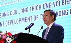 Đưa Đồng bằng sông Cửu Long phát triển bền vững, thích ứng biến đổi khí hậu