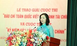 """Bộ Tài chính tổ chức cuộc thi """"Giải Báo chí toàn quốc viết về ngành Tài chính"""" năm 2017"""