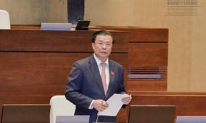 """Bộ trưởng Đinh Tiến Dũng: """"Sức khỏe"""" nền kinh tế tác động đến thu ngân sách"""