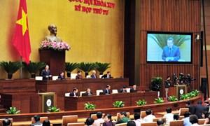Quốc hội đánh giá cao công tác điều hành ngân sách nhà nước