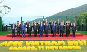 Các nhà lãnh đạo kinh tế APEC thông qua Tuyên bố Đà Nẵng