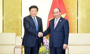 Thủ tướng tiếp các tập đoàn lớn dự APEC 2017