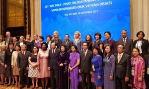 Phụ nữ sẽ tạo ra động lực mới thúc đẩy tăng trưởng khu vực APEC