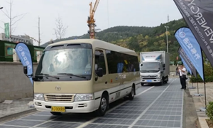 Trung Quốc có đường cao tốc năng lượng mặt trời đầu tiên trên thế giới