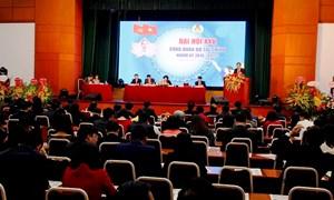Khai mạc Đại hội đại biểu Công đoàn Bộ Tài chính lần thứ XXV nhiệm kỳ 2018-2023