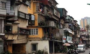 Cả nước có hơn 3 triệu m2 nhà chung cư cũ có tuổi thọ trên 20 năm
