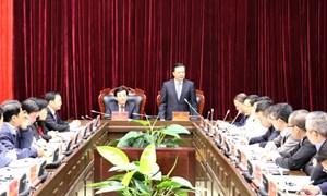 Bộ trưởng Đinh Tiến Dũng: Tạo điều kiện thuận lợi để Điện Biên phát triển