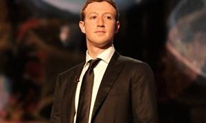 Mất 10 tỷ USD, ông chủ Facebook tụt hạng trong danh sách tỷ phú Forbes