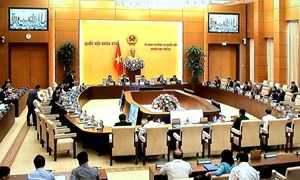 Phiên họp thứ 23 của Ủy ban Thường vụ Quốc hội chính thức khai mạc