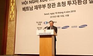 Bộ Tài chính cam kết tạo thuận lợi để doanh nghiệp Việt - Hàn mở rộng hợp tác