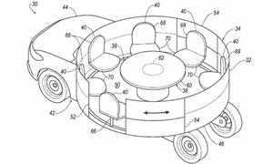 Trong tương lai, xe Ford có nội thất như... đu quay