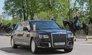 Lai lịch limousine mới toanh của tổng thống Putin vừa xuất hiện