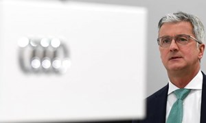 CEO Audi bị bắt tại Đức