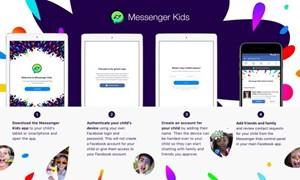 Ứng dụng Messenger Kids dành riêng cho trẻ em