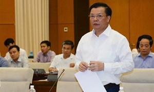Bộ trưởng Đinh Tiến Dũng chỉ rõ nhiều yếu tố tác động tới thu, chi ngân sách