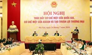 Đẩy mạnh Cơ chế một cửa quốc gia, Cơ chế một cửa ASEAN và tạo thuận lợi thương mại