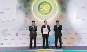 Đất Xanh lần thứ 6 liên tiếp được vinh danh trong Top 50 công ty niêm yết tốt nhất Việt Nam