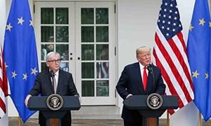 Lòng tin của giới đầu tư được củng cố nhờ thỏa thuận giữa Mỹ và EU