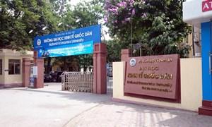 Năm 2018, Trường Đại học Kinh tế Quốc dân tiếp tục đào tạo trình độ thạc sỹ theo định hướng nghiên cứu và ứng dụng