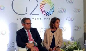 G20 giục WTO đối phó với căng thẳng Mỹ - Trung