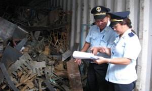 Kiên quyết tái xuất các lô hàng lợi dụng nhập khẩu phế liệu để đưa chất thải vào Việt Nam