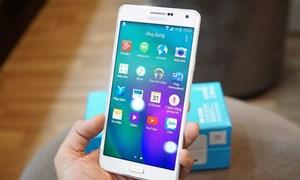 Điện thoại thông minh tầm trung hút khách