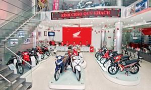 Thị trường xe máy: Tăng tốc nhờ công nghệ mới