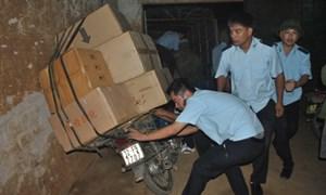 Hải quan Lạng Sơn: Tiếp tục bắt giữ hàng hóa không có chứng từ hợp lệ