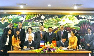 Bộ Tài chính và Cơ quan Phát triển Pháp ký Thoả ước tín dụng và viện trợ không hoàn lại