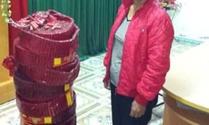 Hải quan Hà Giang bắt giữ 32kg pháo nổ