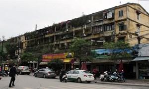 Cải tạo chung cư cũ ở Hà Nội: quy hoạch ì ạch