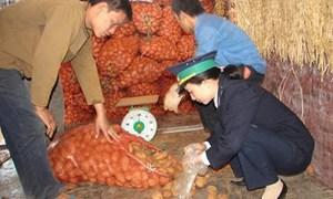 Quản lý chặt hàng phải kiểm tra chất lượng, kiểm tra an toàn thực phẩm và kiểm dịch