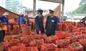 Vướng mắc trong thông quan đối với hàng nông sản nhập khẩu