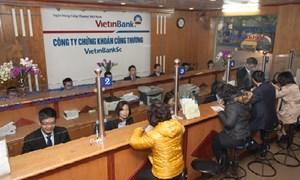 VietinBankSc vượt qua khó khăn thị trường