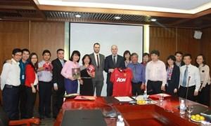 BIDV và Manchester United trao đổi kế hoạch hợp tác chiến lược