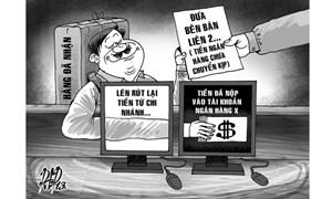 Lừa đảo thanh toán qua ngân hàng: Cháo múc, tiền không trao