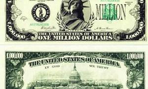 Cách phân biệt thật giả tiền mệnh giá 1 triệu USD
