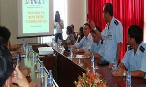 Hải quan Bình Phước: Hỗ trợ doanh nghiệp, nỗ lực về đích
