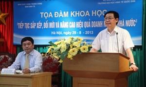 Tiếp tục sắp xếp, đổi mới và phát triển doanh nghiệp nhà nước